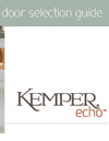 Kemper Echo Door Guide
